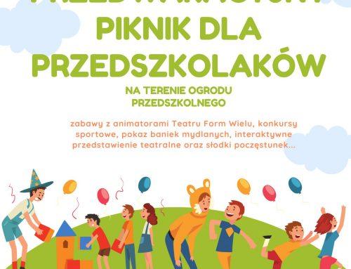 Przedwakacyjny piknik dla przedszkolaków