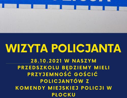 Wizyta policjanta
